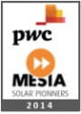 SUN & LIFE's VP, unveiled by MESIA and PwC as one of the Middle East's future solar leaders